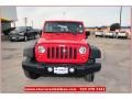2012 Flame Red Jeep Wrangler Sport 4x4  photo #9