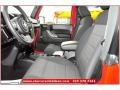 2012 Flame Red Jeep Wrangler Sport 4x4  photo #11