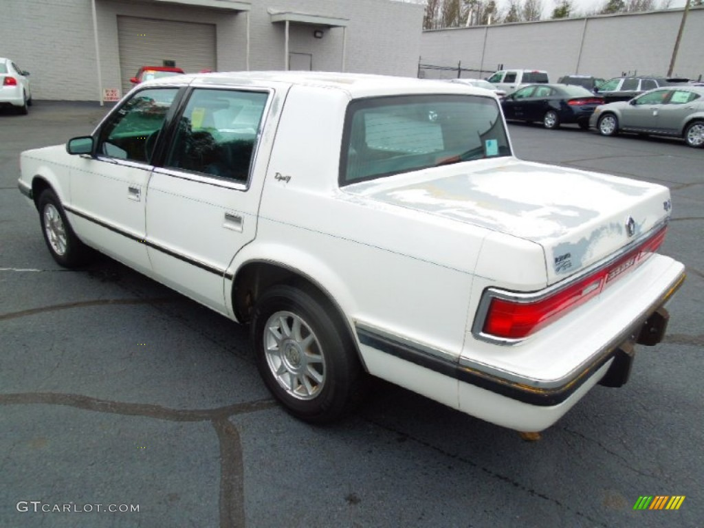 1993 dynasty le sedan bright white blue photo 4