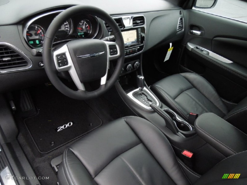 2013 chrysler 200 limited hard top convertible interior. Black Bedroom Furniture Sets. Home Design Ideas
