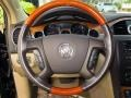 Cashmere/Cocoa Steering Wheel Photo for 2008 Buick Enclave #75398997