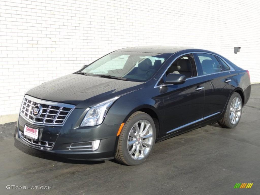 2013 Graphite Metallic Cadillac Xts Luxury Fwd 75394288 Car Color Galleries