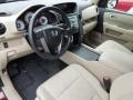 Beige Prime Interior Photo for 2011 Honda Pilot #75408729