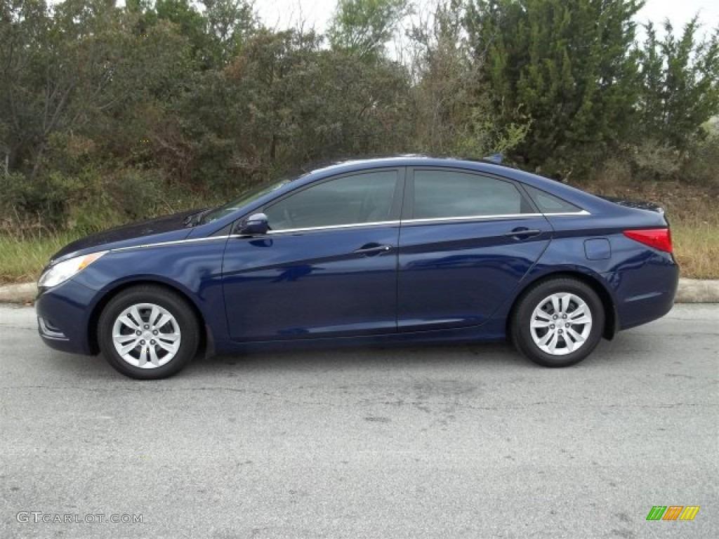 Indigo Blue Pearl 2011 Hyundai Sonata Gls Exterior Photo 75415363 Gtcarlot Com