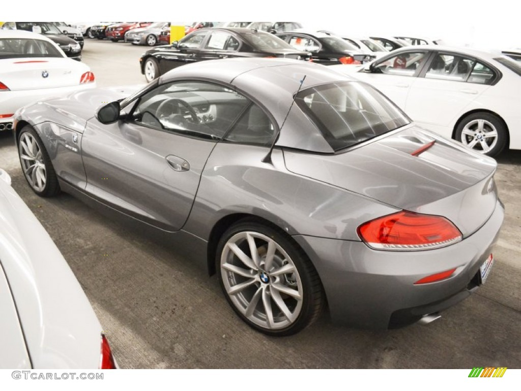 Space Gray Metallic 2013 Bmw Z4 Sdrive 35i Exterior Photo