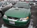 1999 Electric Green Metallic Ford Mustang V6 Coupe  photo #3