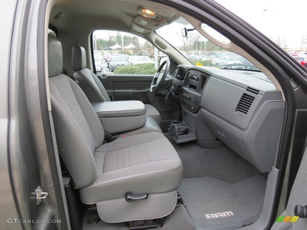 2007 dodge ram 2500 st regular cab interior color photos