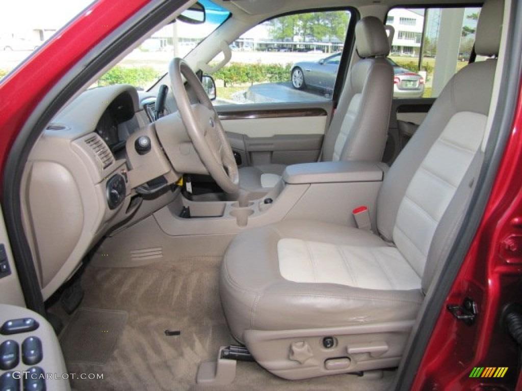 2003 Ford Explorer Eddie Bauer Front Seat Photo #75446127