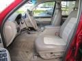 Medium Parchment Beige 2003 Ford Explorer Eddie Bauer Interior Color