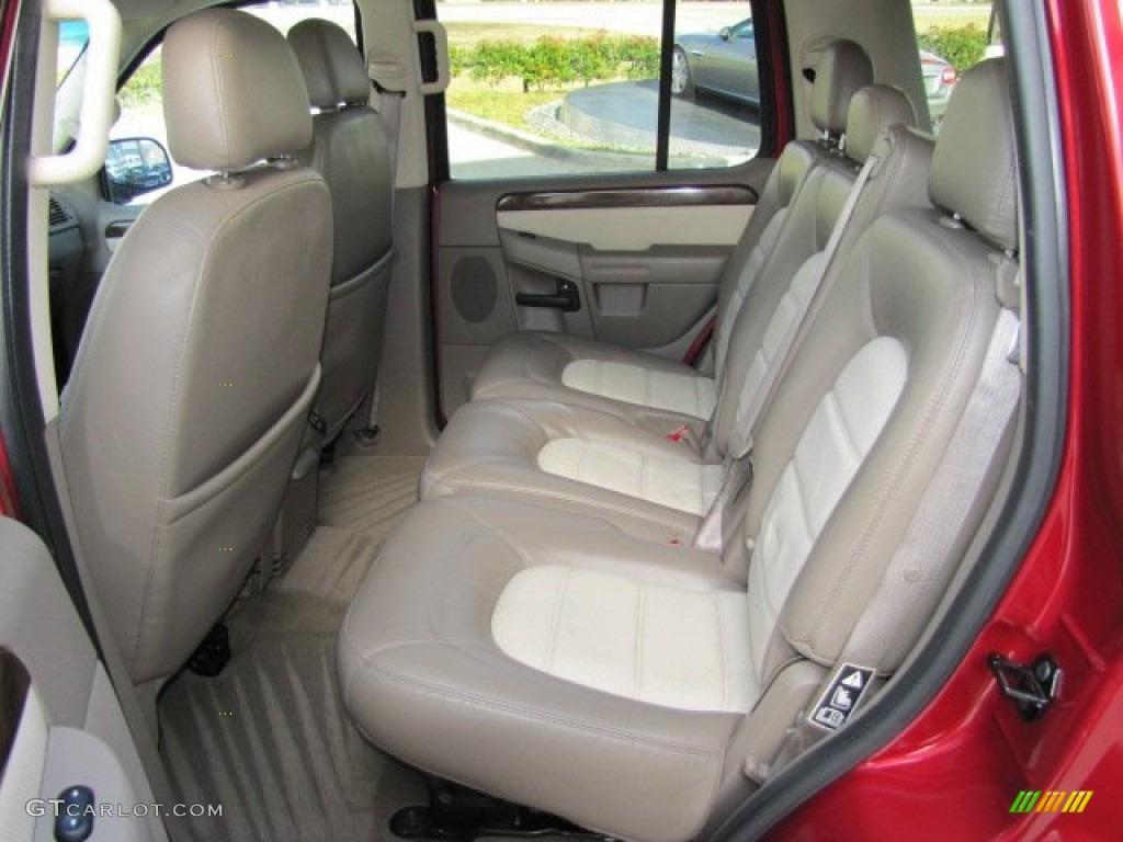 2003 Ford Explorer Eddie Bauer Rear Seat Photo #75446178