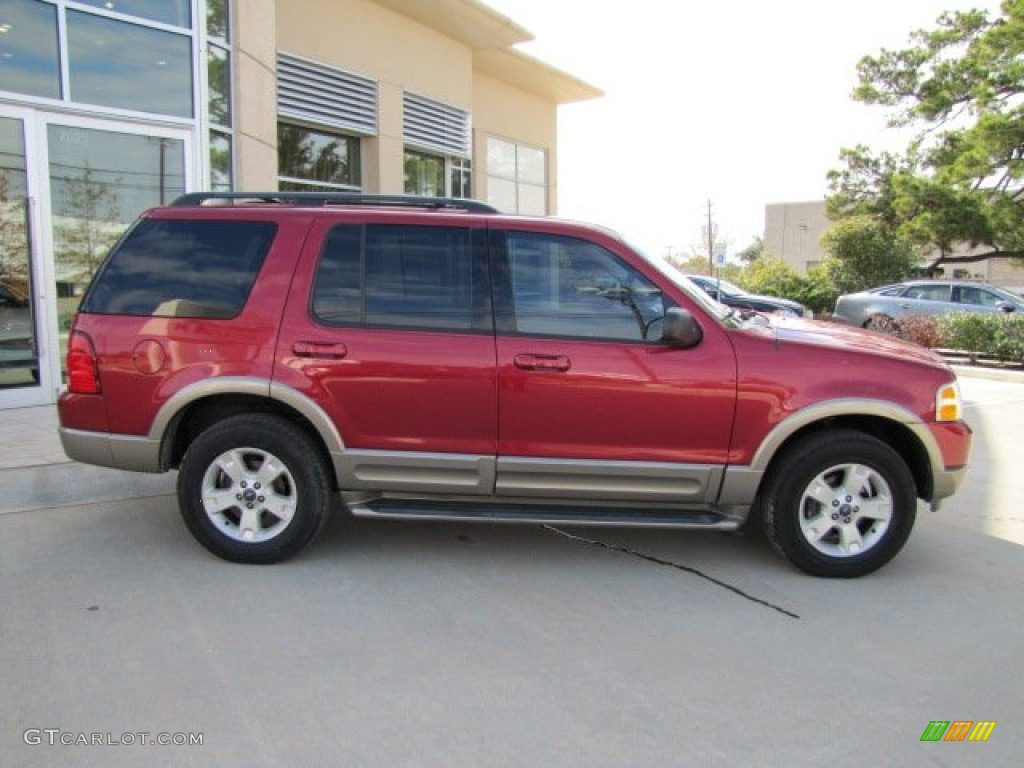 Redfire Metallic 2003 Ford Explorer Eddie Bauer Exterior Photo #75446280