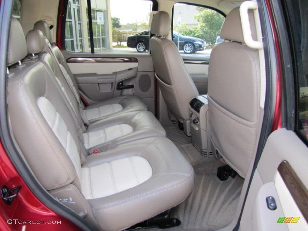 2003 Ford Explorer Eddie Bauer Rear Seat Photos