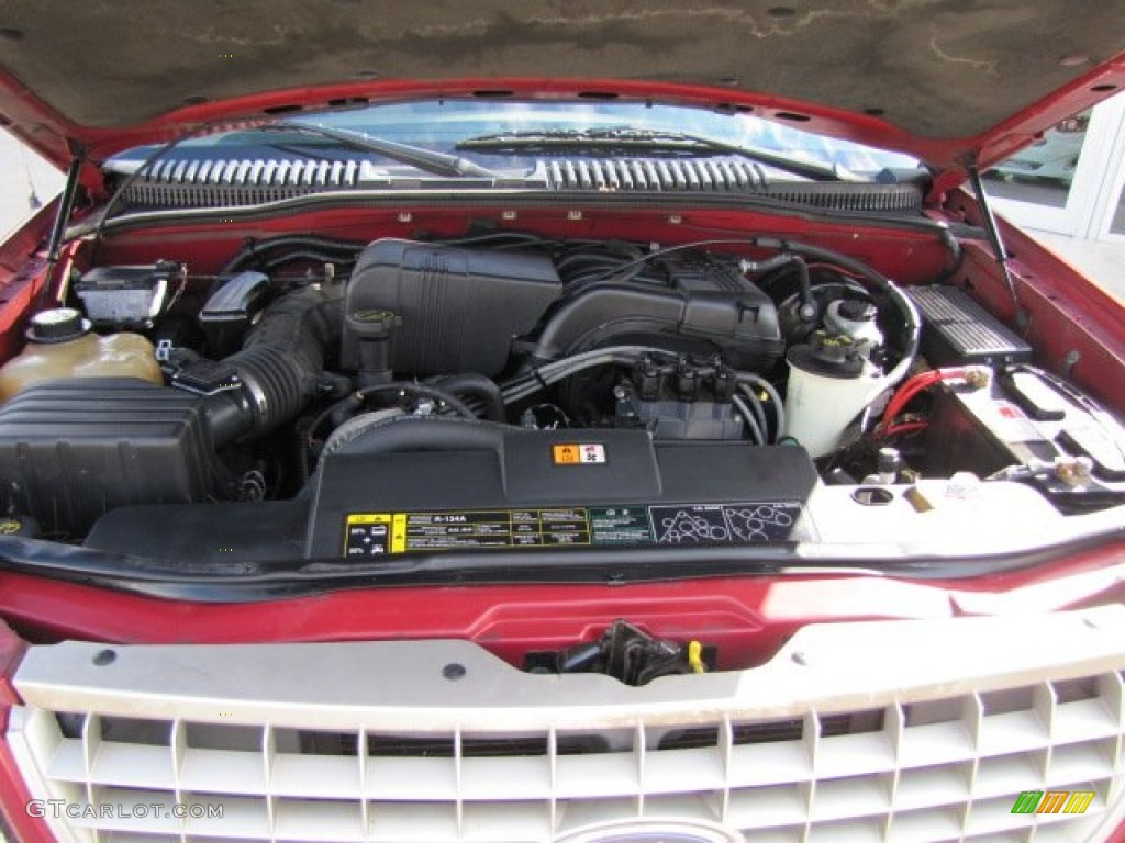 2003 Ford Explorer Eddie Bauer Engine Photos