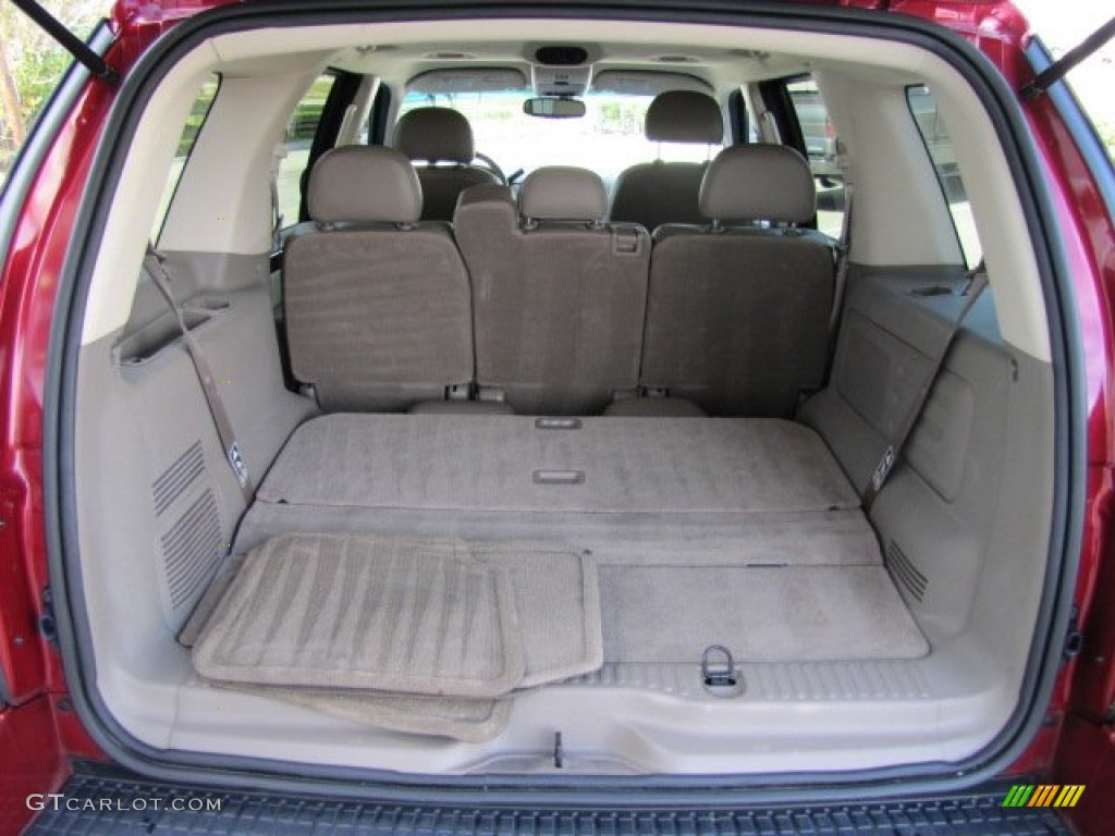 2003 Ford Explorer Eddie Bauer Trunk Photos