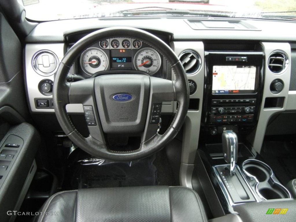 2010 Ford F150 FX4 SuperCrew 4x4 Black Dashboard Photo ...