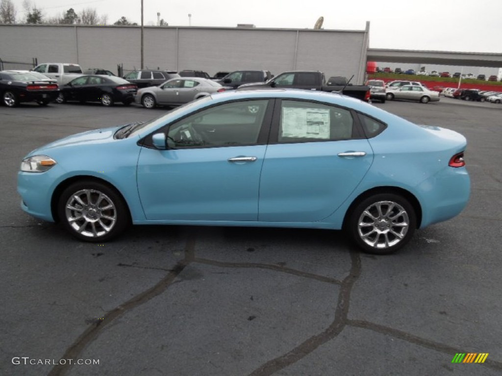 Laguna Blue 2013 Dodge Dart Limited Exterior Photo #75458392 ...