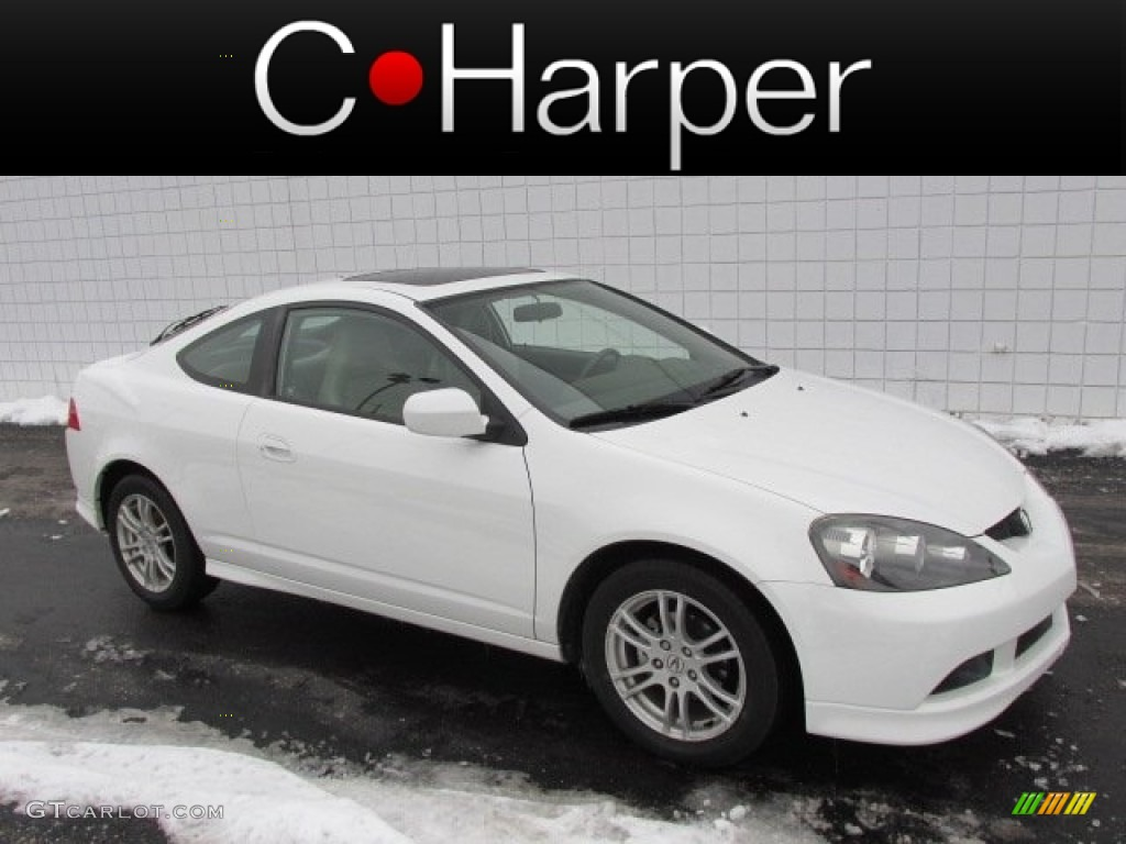 2006 RSX Sports Coupe - Taffeta White / Titanium photo #1