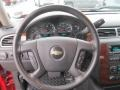 Ebony Steering Wheel Photo for 2011 Chevrolet Silverado 1500 #75465179