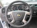 Ebony Steering Wheel Photo for 2013 Chevrolet Silverado 1500 #75467980