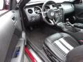2011 Race Red Ford Mustang Shelby GT500 SVT Performance Package Coupe  photo #12