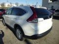 2013 White Diamond Pearl Honda CR-V EX AWD  photo #2
