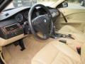 Beige 2007 BMW 5 Series Interiors
