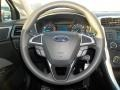 2013 Oxford White Ford Fusion S  photo #12