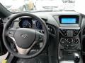 2013 Black Noir Pearl Hyundai Genesis Coupe 2.0T  photo #4