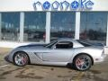 Bright Silver Metallic 2010 Dodge Viper SRT10 Coupe
