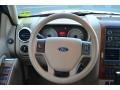 2009 Ford Explorer Camel Interior Steering Wheel Photo
