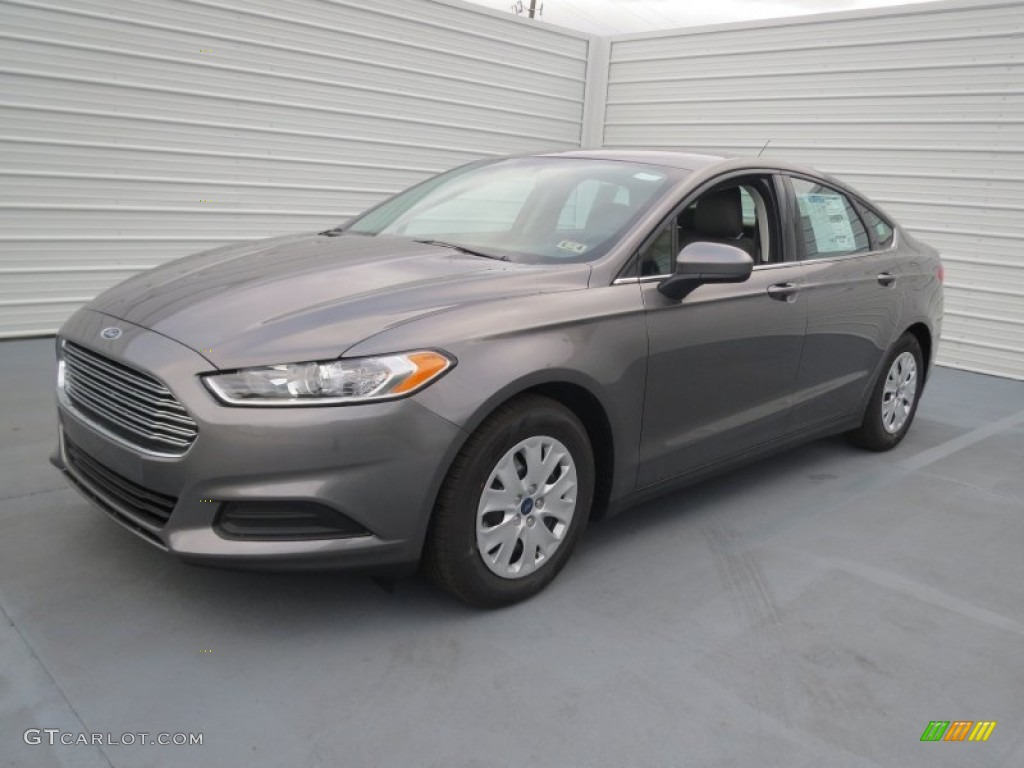 Sterling Gray Metallic 2013 Ford Fusion S Exterior Photo 75517950