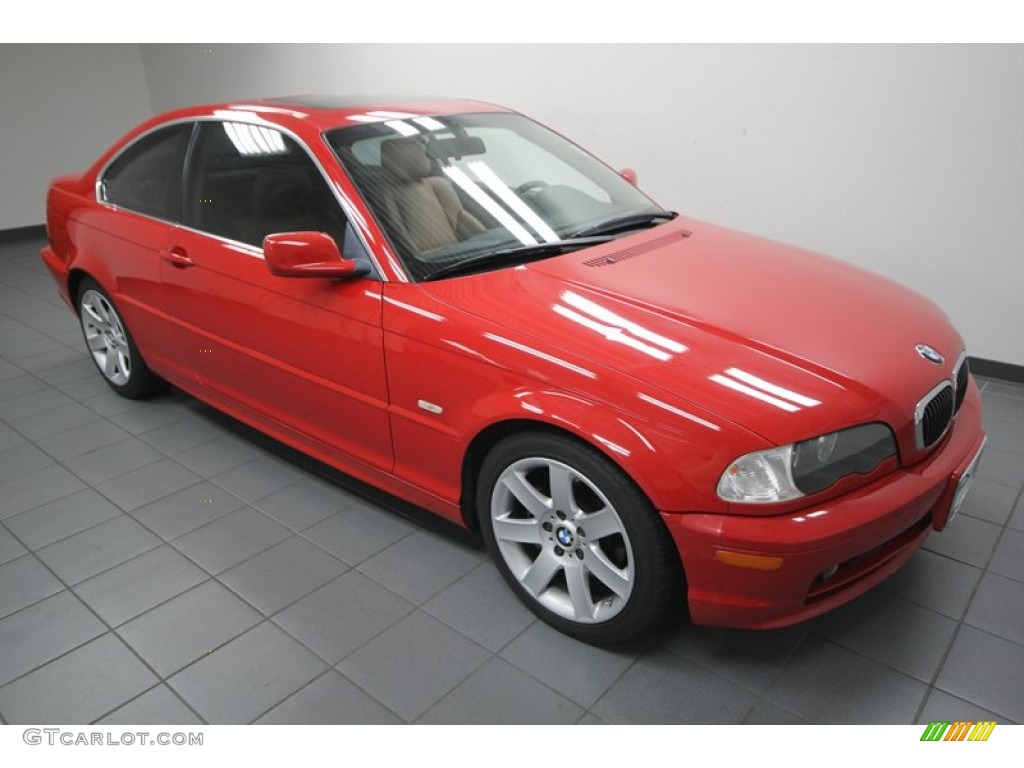 electric red 2002 bmw 3 series 325i coupe exterior photo. Black Bedroom Furniture Sets. Home Design Ideas