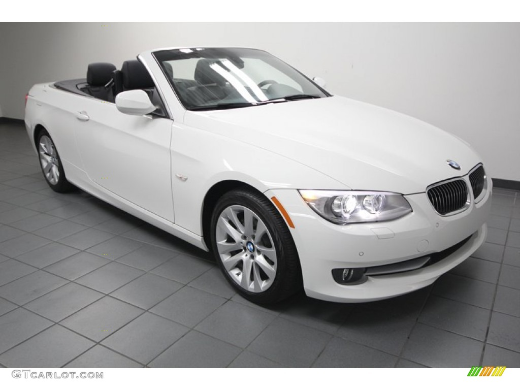 Alpine White BMW Series I Convertible - 2012 bmw 328i convertible