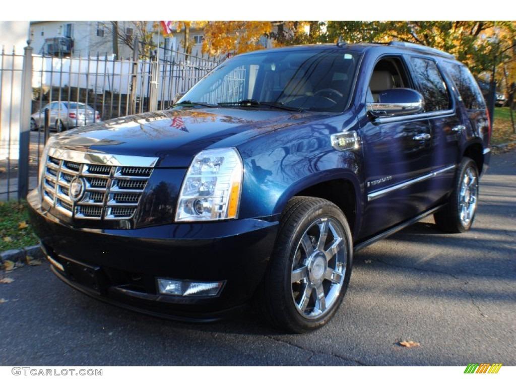 2009 Blue Chip Cadillac Escalade Hybrid AWD #75524212 ...