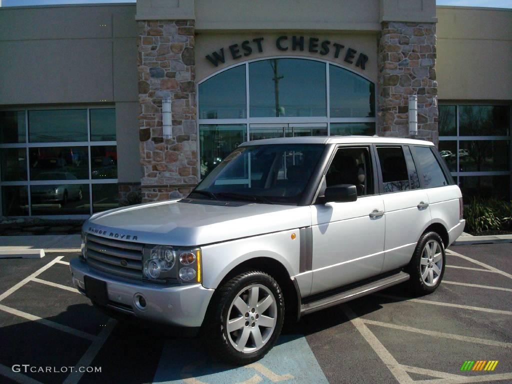 2005 zambezi silver metallic land rover range rover hse 7483153 car color. Black Bedroom Furniture Sets. Home Design Ideas