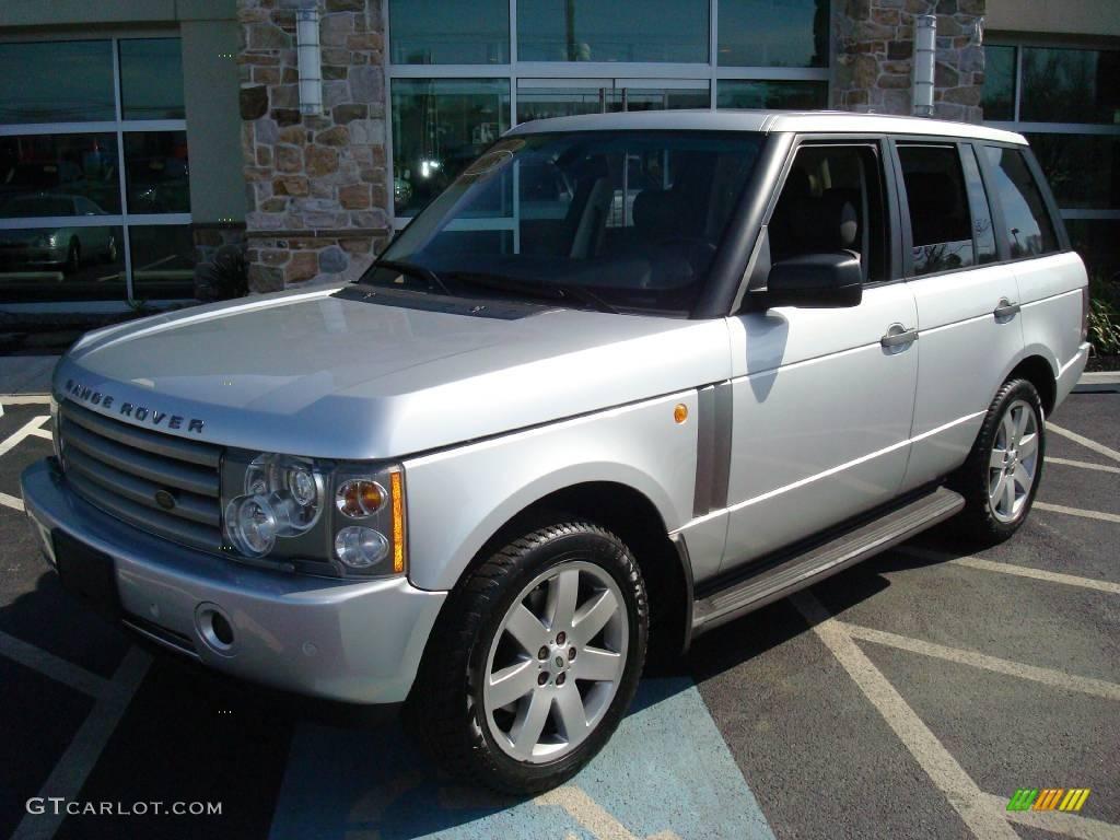 2005 zambezi silver metallic land rover range rover hse 7483153 photo 2 car. Black Bedroom Furniture Sets. Home Design Ideas