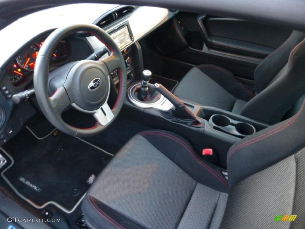 Subaru Brz Black Interior