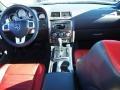 Dark Slate Gray/Radar Red Dashboard Photo for 2012 Dodge Challenger #75537213
