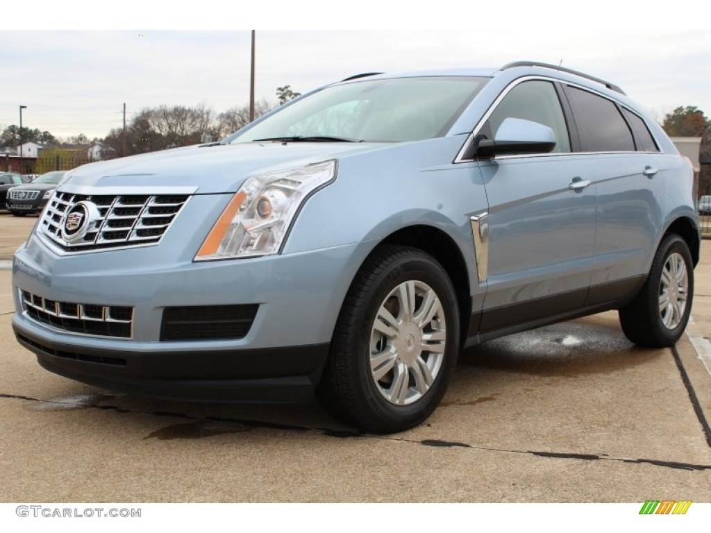 2013 Glacier Blue Metallic Cadillac Srx Fwd 75524801 Car Color Galleries