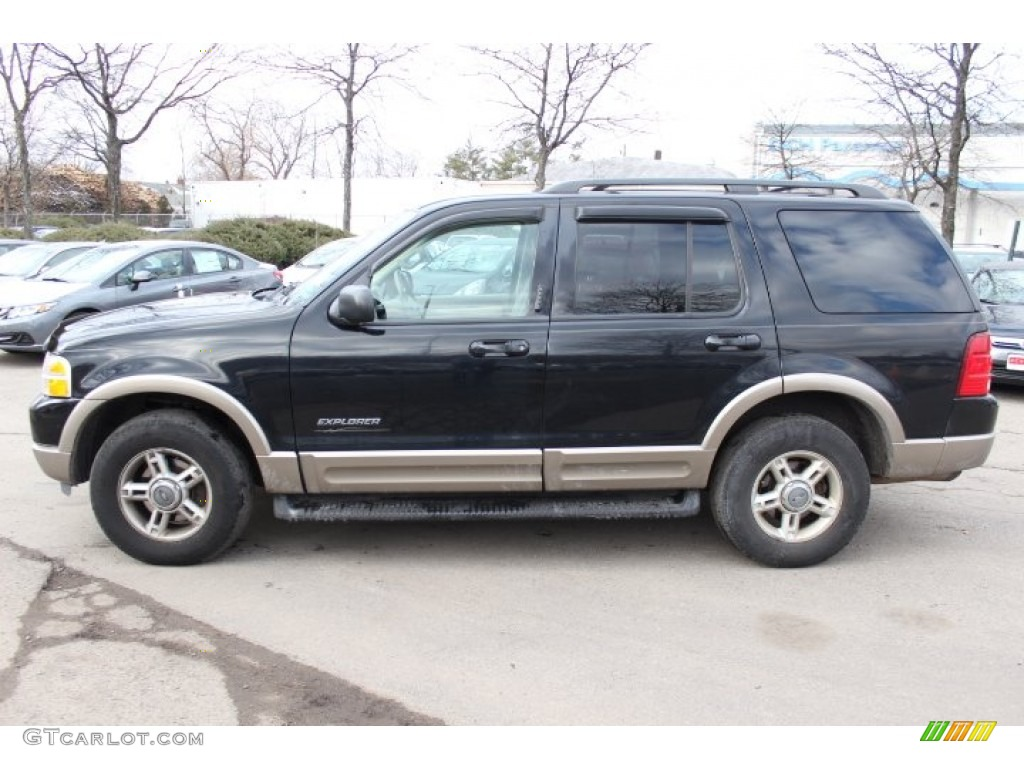 black clearcoat 2002 ford explorer eddie bauer 4x4. Black Bedroom Furniture Sets. Home Design Ideas