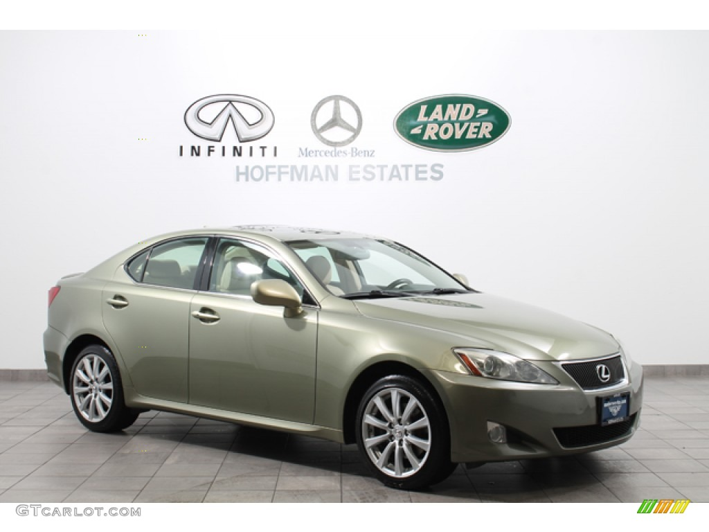 2007 desert sage metallic lexus is 250 awd 75525056. Black Bedroom Furniture Sets. Home Design Ideas