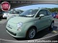 Verde Chiaro (Light Green) 2012 Fiat 500 Pop
