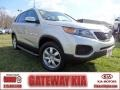 2011 Bright Silver Kia Sorento LX AWD  photo #1