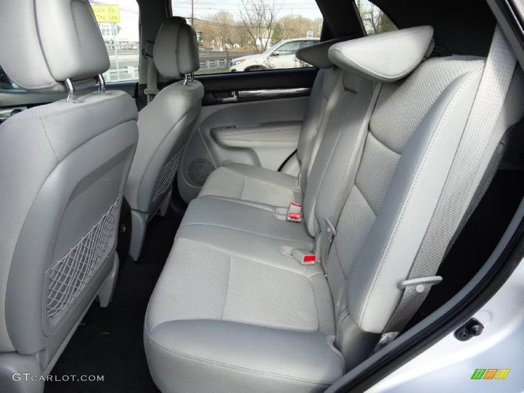 2011 Sorento LX AWD - Bright Silver / Gray photo #17