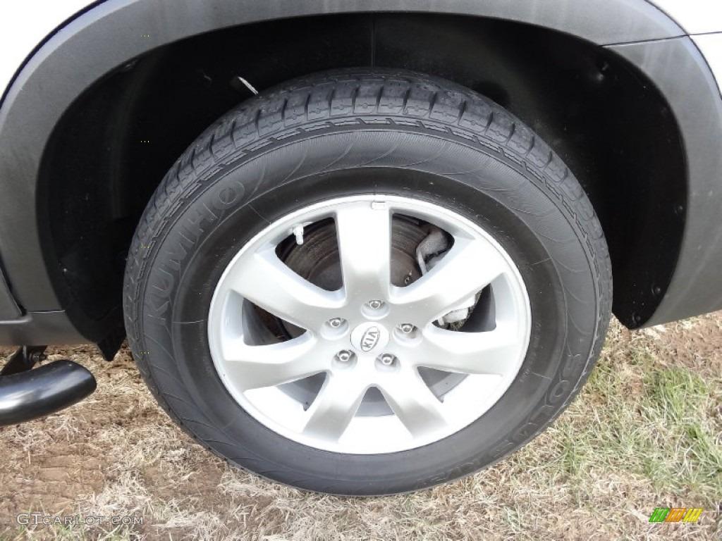 2011 Sorento LX AWD - Bright Silver / Gray photo #19