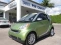 Green Matte 2011 Smart fortwo passion coupe
