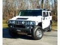 2003 White Hummer H2 SUV  photo #3