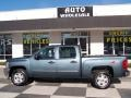 2012 Graystone Metallic Chevrolet Silverado 1500 LT Crew Cab  photo #1