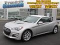 2013 Platinum Metallic Hyundai Genesis Coupe 3.8 Grand Touring  photo #1