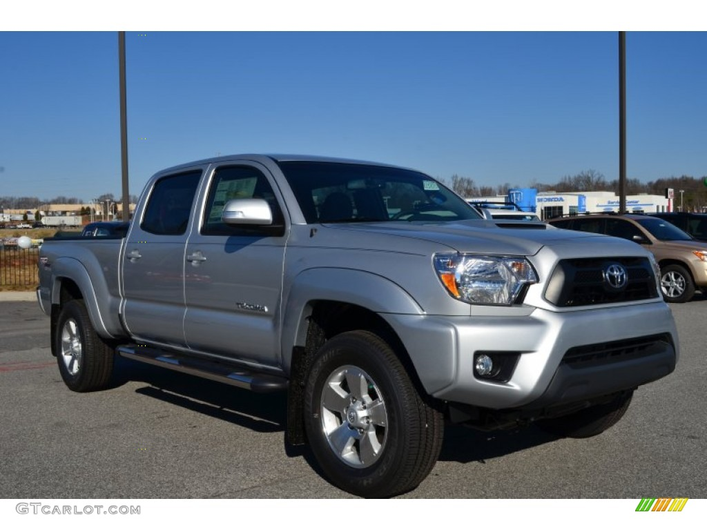 silver streak mica 2013 toyota tacoma v6 trd sport prerunner double cab exterior photo 75599474. Black Bedroom Furniture Sets. Home Design Ideas